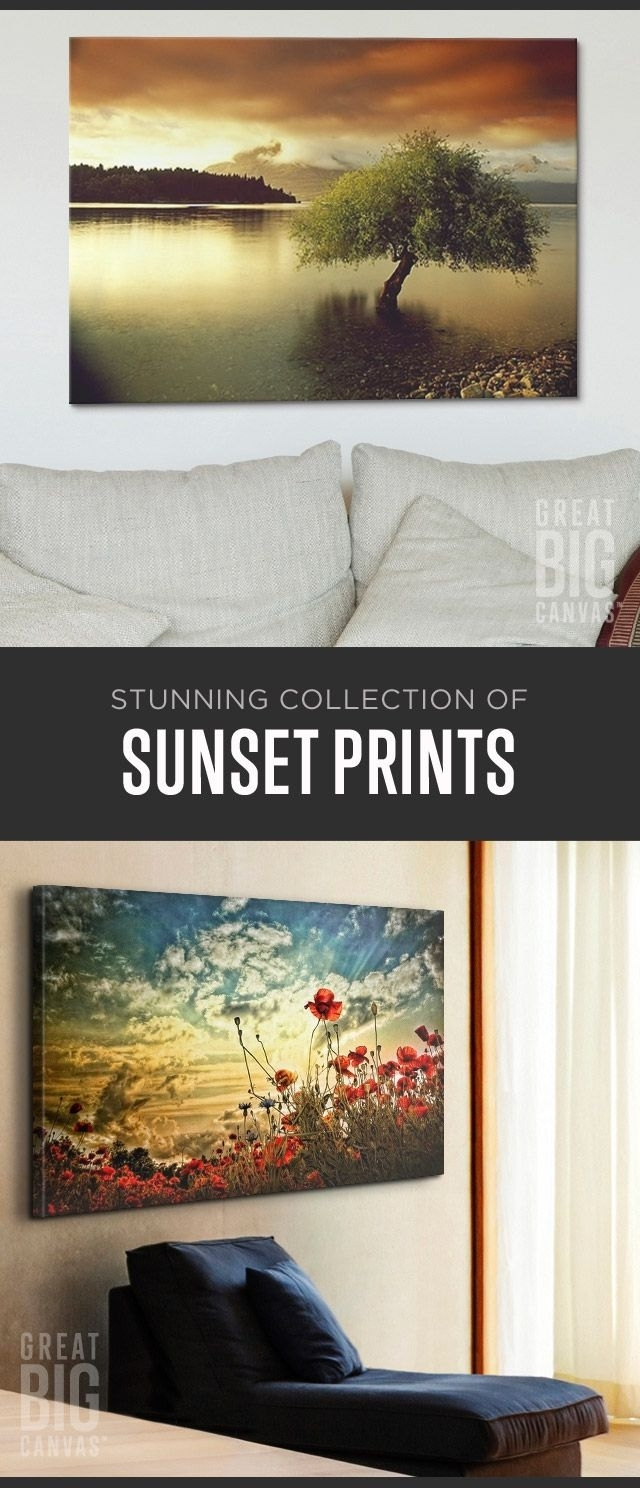 53 Best Sunset Art Images On Pinterest | Framed Art Prints, Framed In Best And Newest Arizona Canvas Wall Art (View 2 of 15)