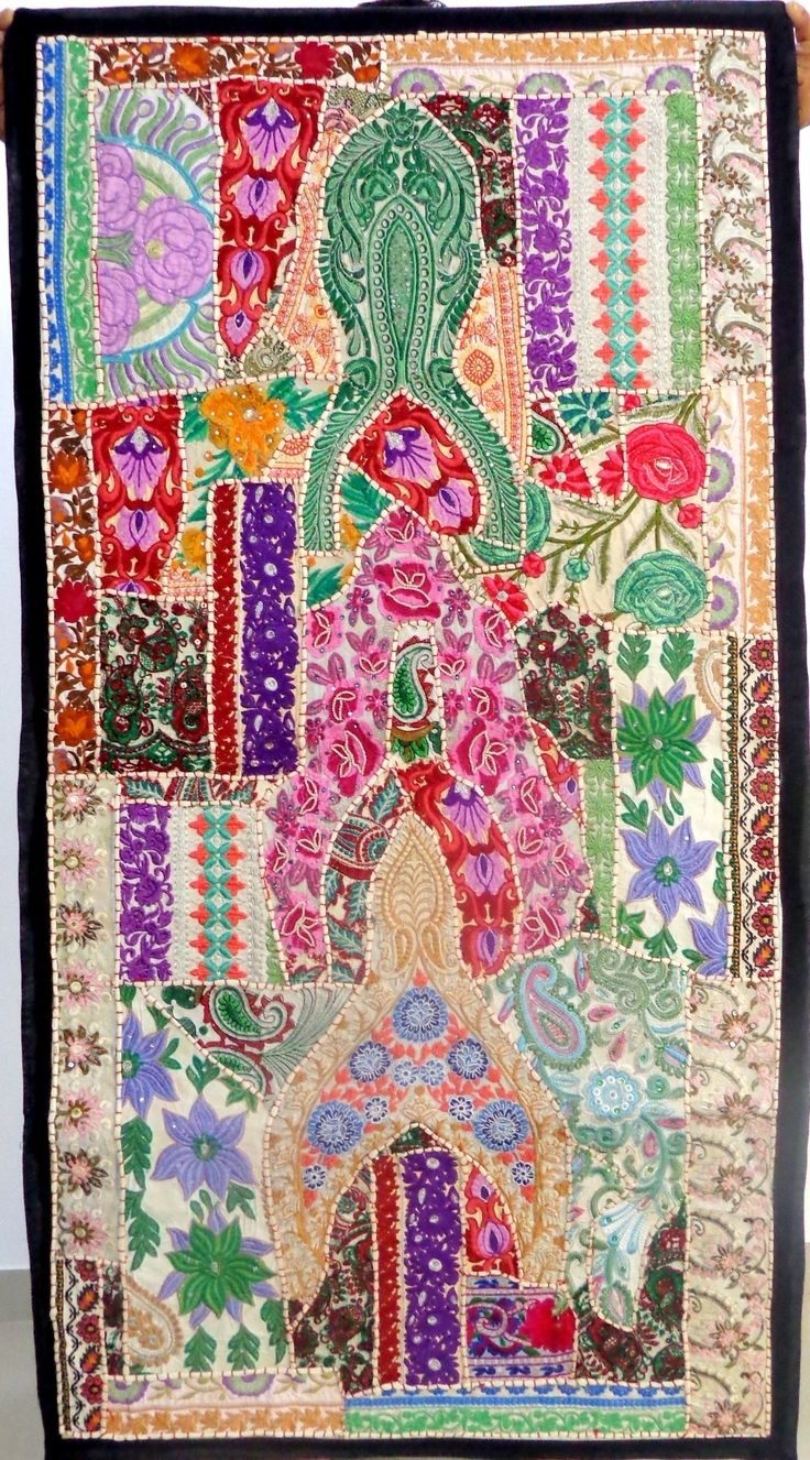 54 Best Home Decor Tapestry – Wall Hanging(Embroidered & Beaded Regarding Most Recently Released Handmade Textile Wall Art (View 1 of 15)