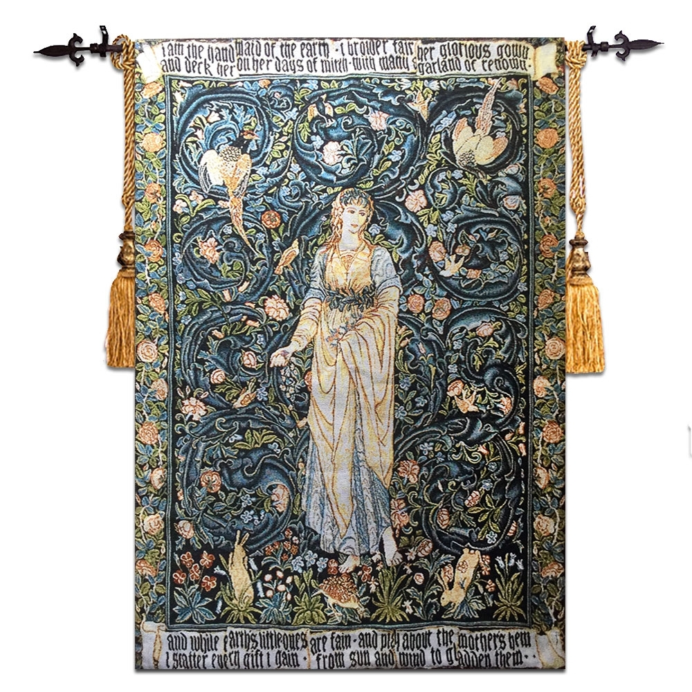 58*90Cm Wall Tapestry Belgium Wall Hanging Gobelin Moroccan Decor In 2018 Moroccan Fabric Wall Art (View 4 of 15)