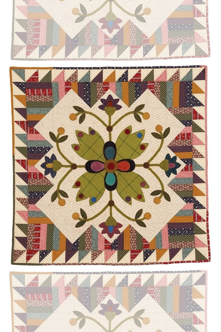 63 Best Appliqué Patterns & Projects Images On Pinterest Intended For Most Recent Fabric Applique Wall Art (View 1 of 15)