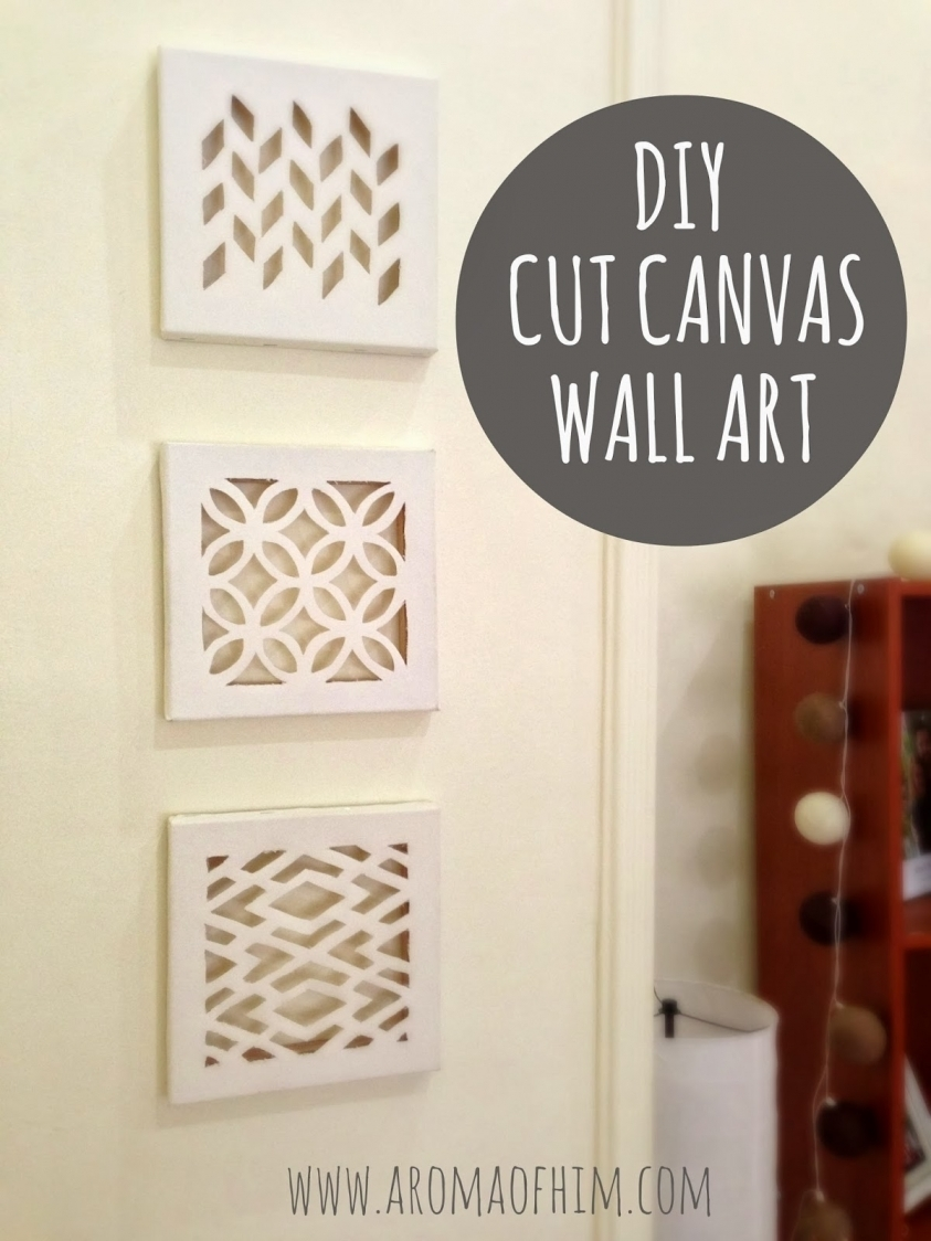 76 Brilliant Diy Wall Art Ideas For Your Blank Walls Diy Joy With Within 2018 Joy Canvas Wall Art (View 6 of 15)