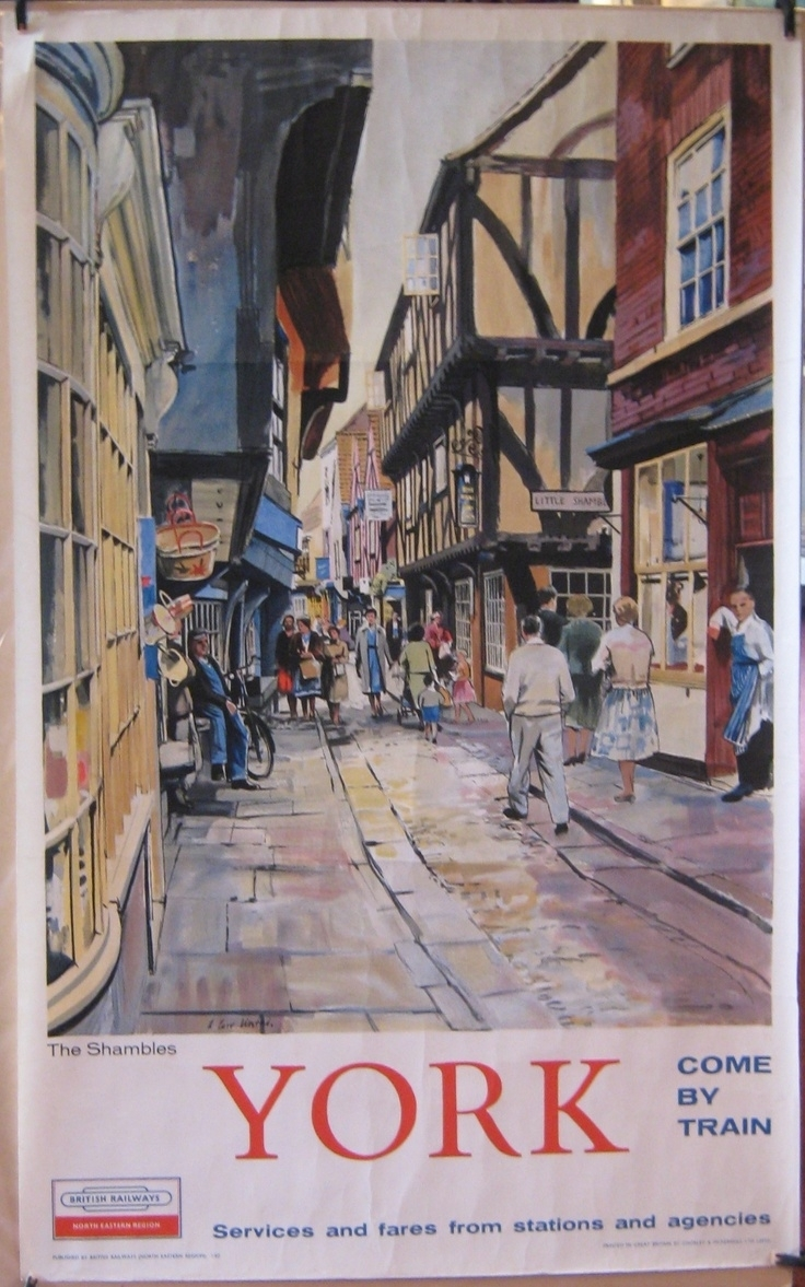 893 Best Railway – Posters – British Railways Images On Pinterest Inside Latest European Framed Art Prints (View 9 of 15)