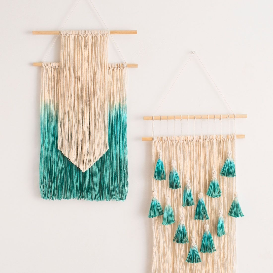9 Diys For Your College Apartment | Diy Wall Art, Diy Wall And Throughout Best And Newest Woven Fabric Wall Art (View 2 of 15)