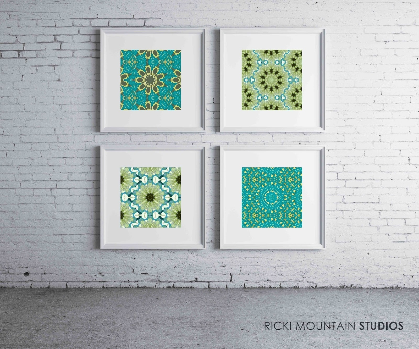 A Love Of Symmetry, Pattern And Color In 2018 Framed Art Prints (View 1 of 15)