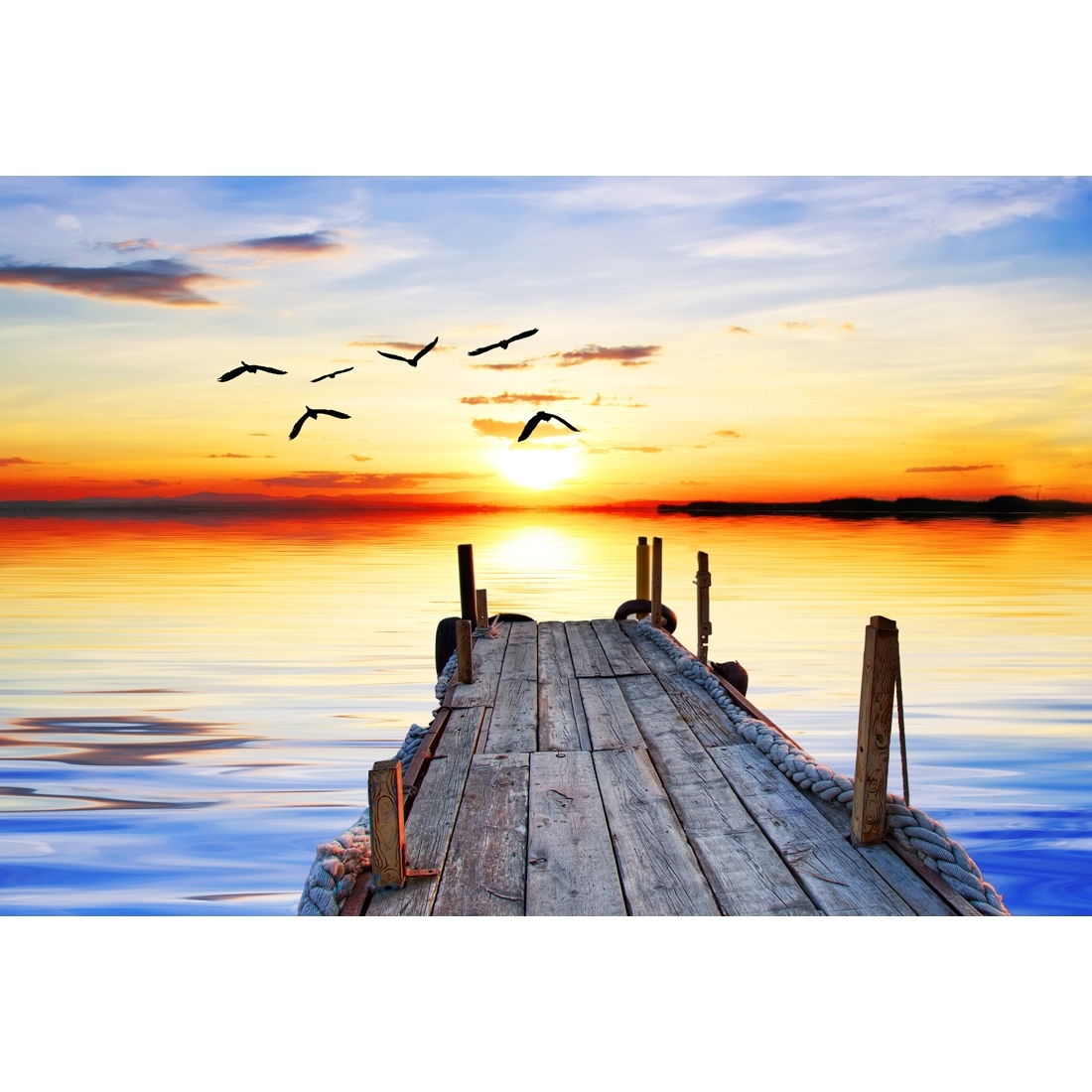 Abandoned Jetty, Original – Canvas Print – Wall Art – Australia In Most Current Jetty Canvas Wall Art (View 2 of 15)