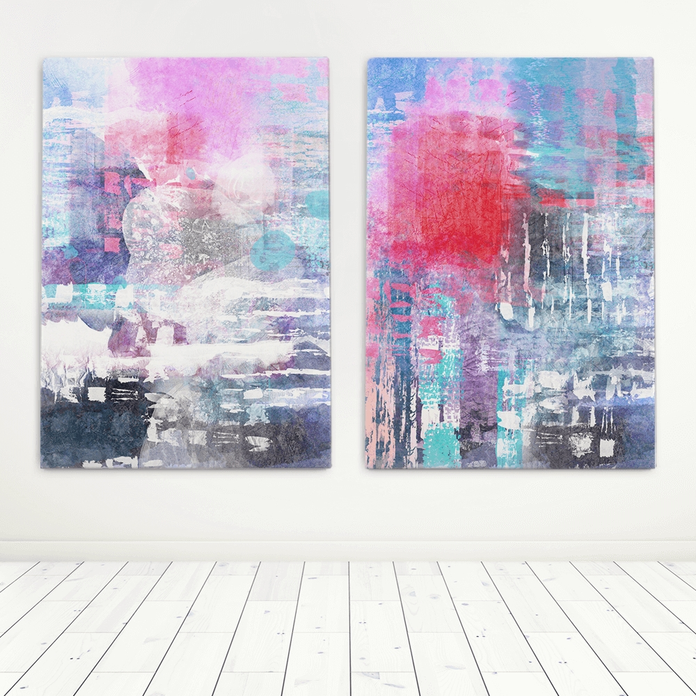 Abstract Art Set | Artworld Art World For Most Current Cape Town Canvas Wall Art (View 1 of 15)