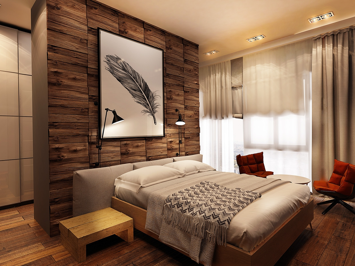 Accent Wall Bathroom Design   Bathroom Design 2017 2018 Inside Best And Newest Wall Accents For Bedroom (View 1 of 15)