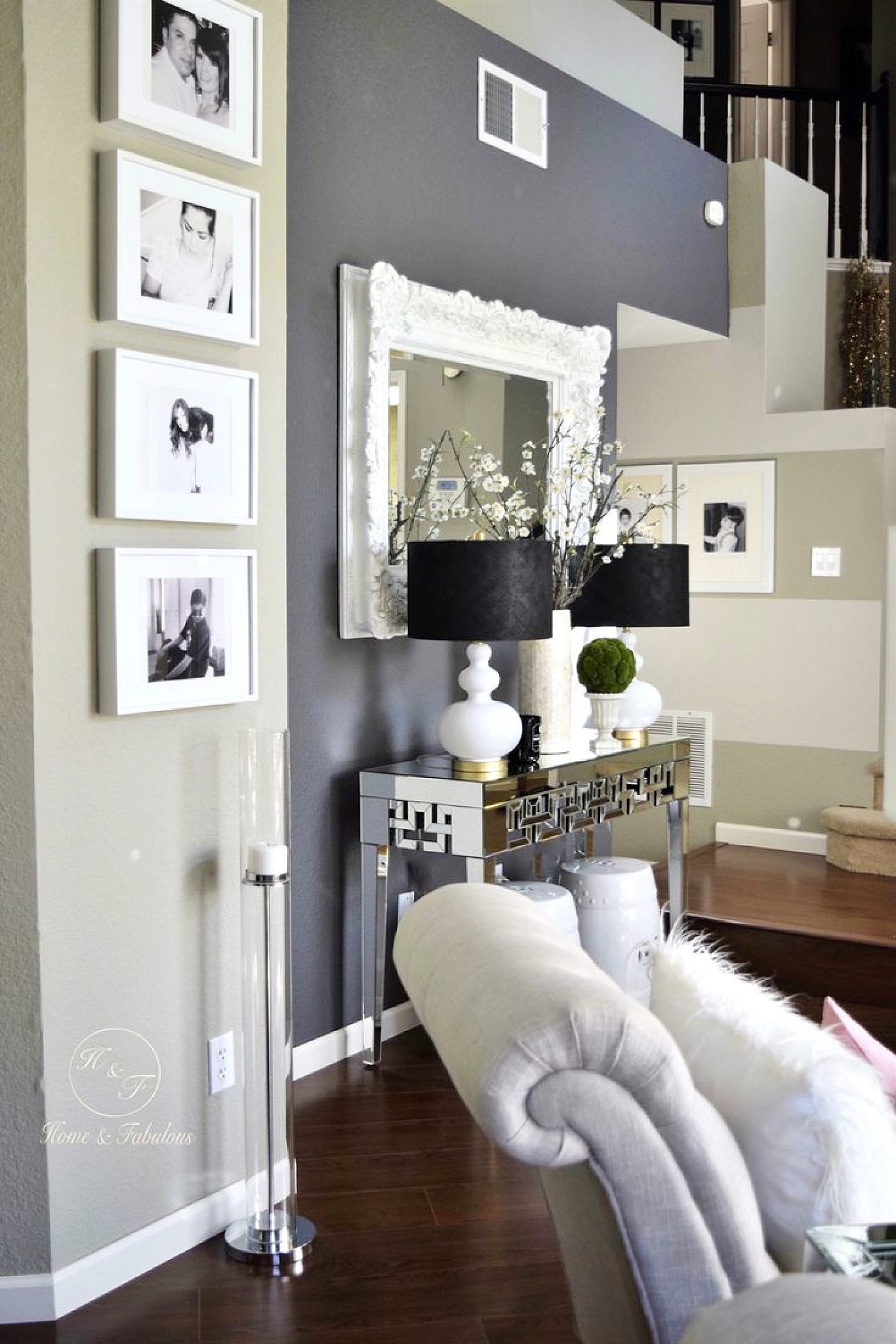 Accent Wall Color Combinations Feature Wall Living Room Bedroom Pertaining To 2017 Wall Accents Color Combinations (View 1 of 15)