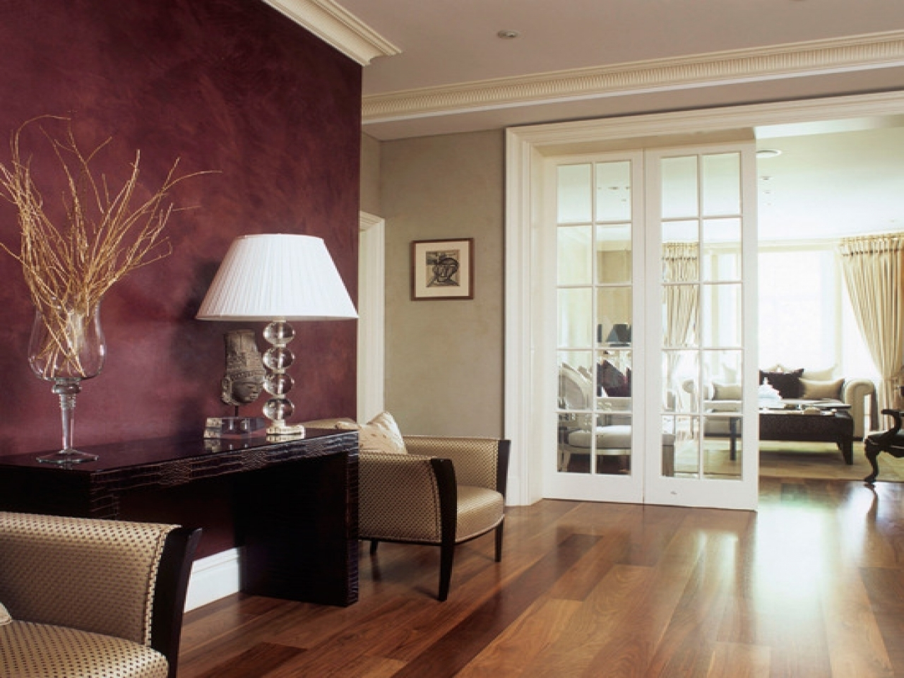 Accent Wall Colors Burgundy – Giving Highlight With Accent Wall In Newest Maroon Wall Accents (View 1 of 15)