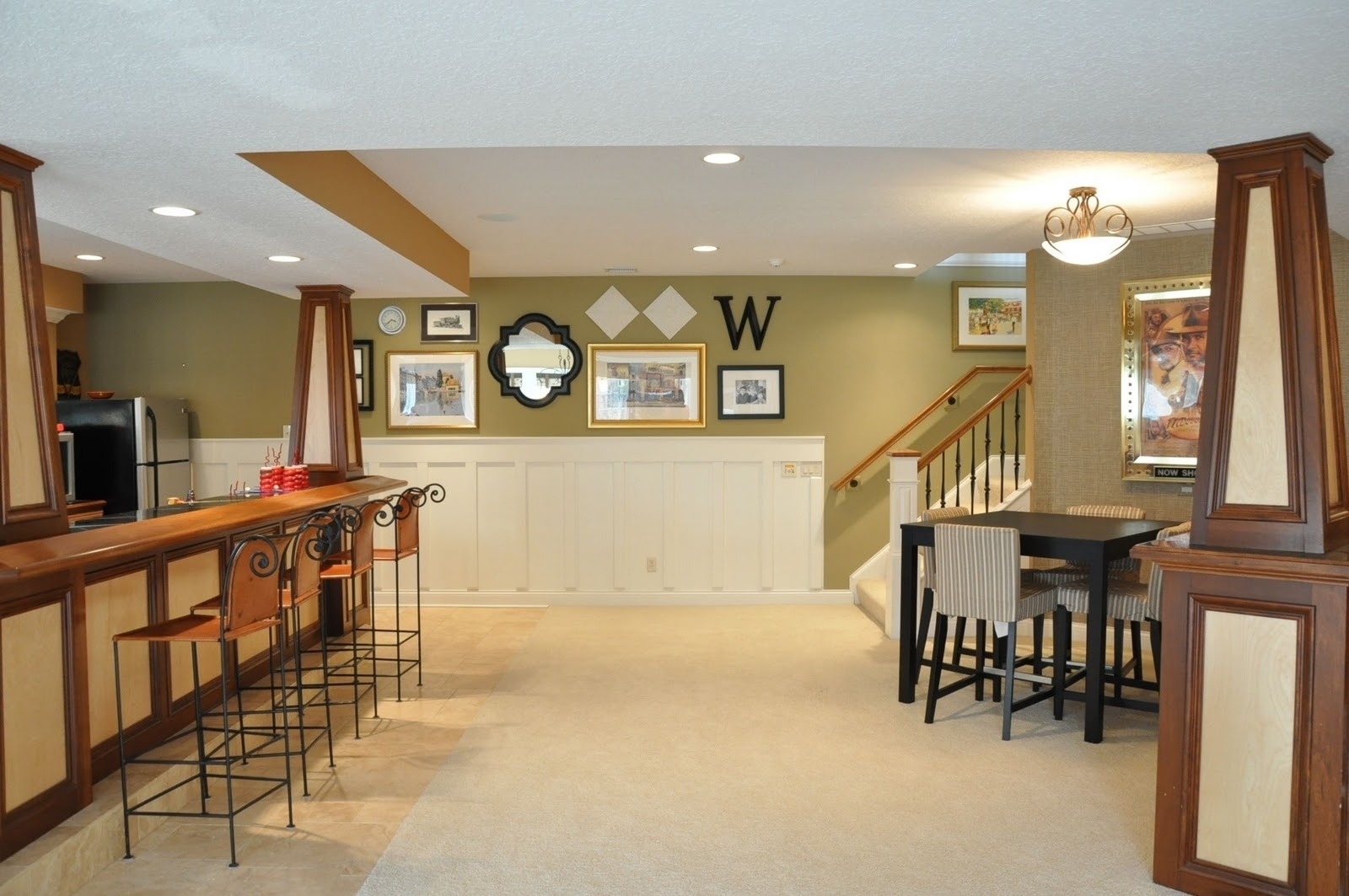 Accent Wall Ideas For Basement • Wall Decorating Ideas Throughout Most Up To Date Basement Wall Accents (View 1 of 15)