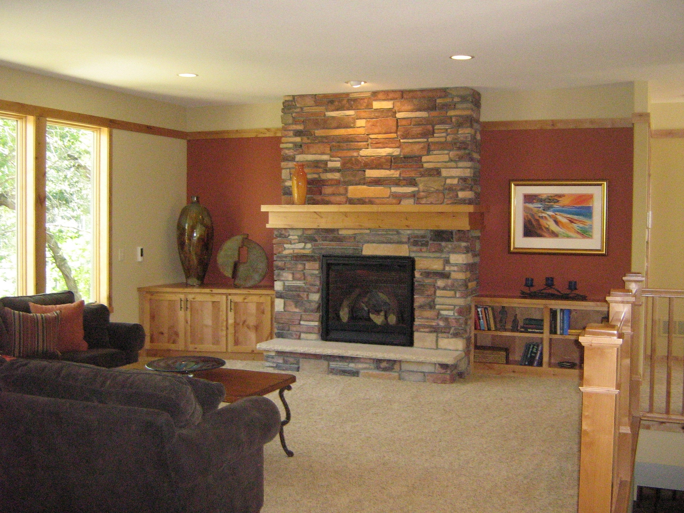 Accent Wall: Love It Or Leave It? | A Little Design Help Regarding 2017 Wall Accents For Fireplace (View 3 of 15)