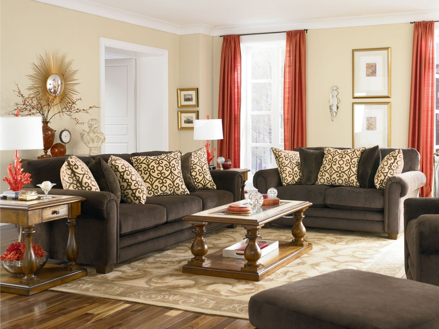 Featured Photo of Brown Furniture Wall Accents