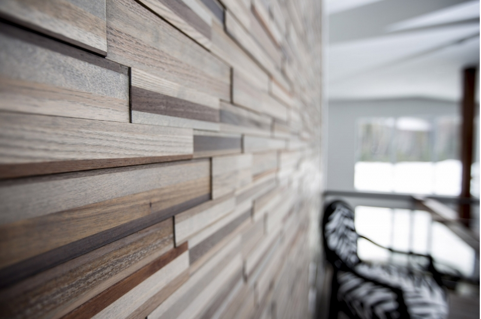 Add A Warm, Contemporary Look To Any Room With Easy Diy Multi With 2017 Wood Paneling Wall Accents (View 2 of 15)