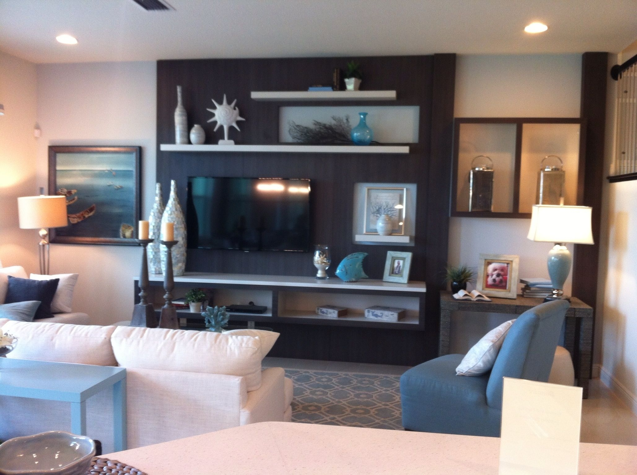 Add An Accent Color In A Large Area Behind The Tv, But Maybe Not Inside Most Up To Date Wall Accents With Tv (View 4 of 15)