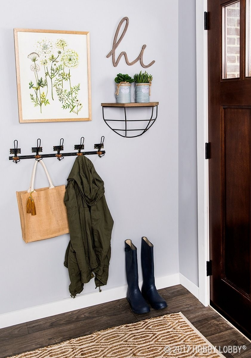Add Emphasis To Your Entryway With A Simple, Chic Gallery Wall Within Most Recent Entryway Wall Accents (View 14 of 15)