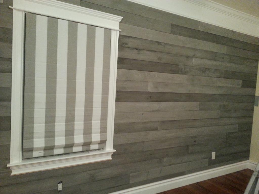 Adding Character With Accent Walls: 2015 Fall Flooring Trends Within Latest Wall Accents With Laminate Flooring (View 2 of 15)