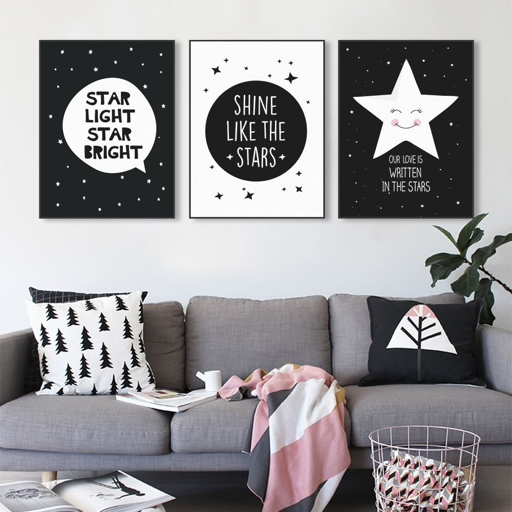 Aliexpress : ??? ?????? ?????????? ????? ???? ??? ???? ??? Within Most Recently Released Modern Nursery Canvas Wall Art (View 6 of 15)