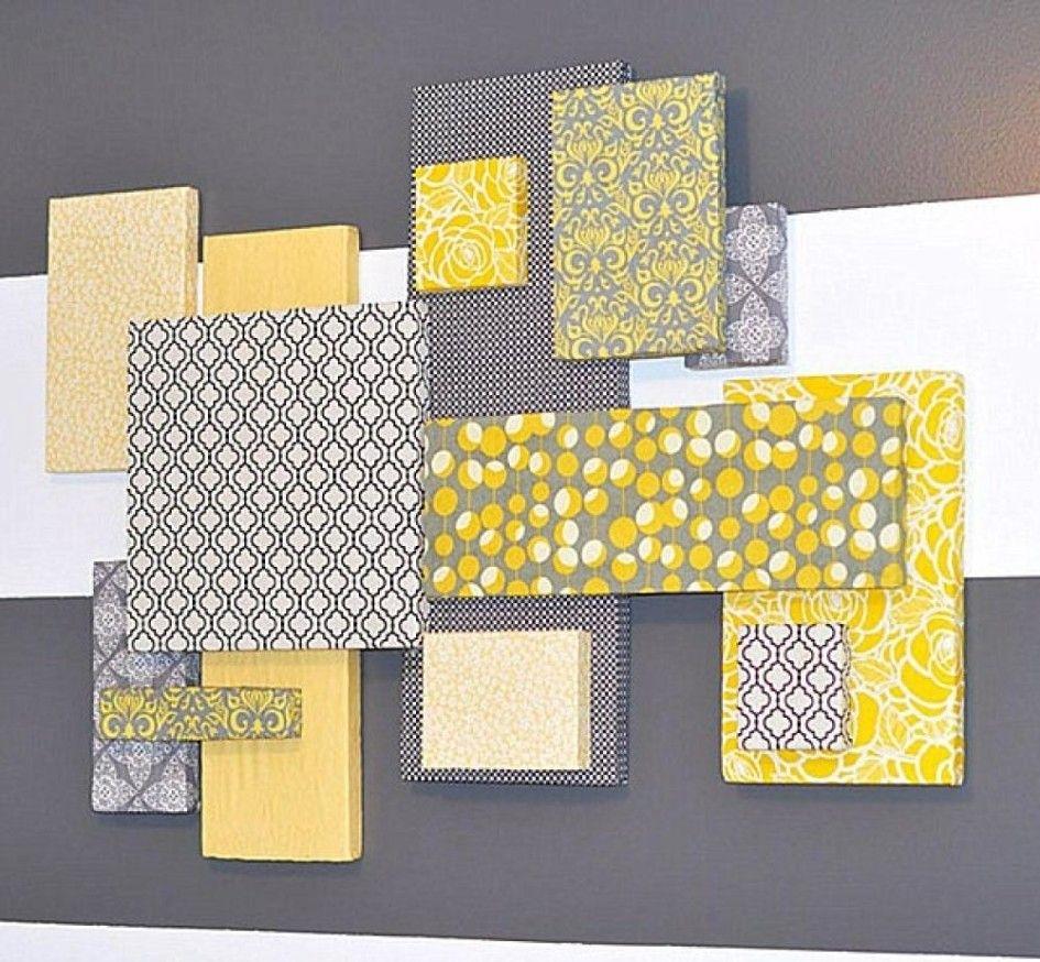 Featured Photo of Styrofoam Fabric Wall Art