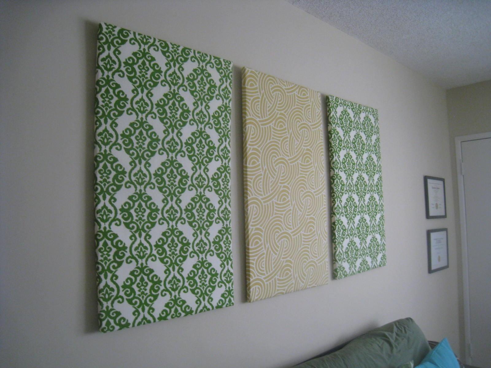 Art: Diy Fabric Wall Art With Regard To Newest Diy Fabric Wall Art Panels (View 10 of 15)