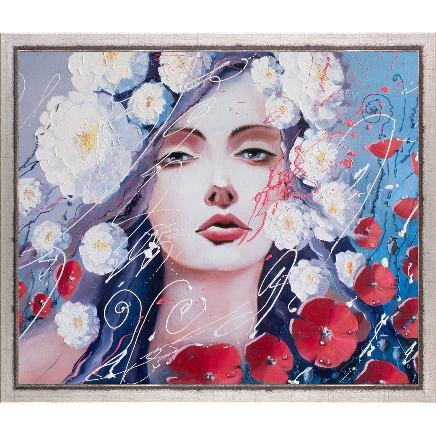 Artistbe Svetlana Tikhonova 'venus Tears' Fine Art Print On Canvas In Most Popular Framed Asian Art Prints (View 4 of 15)