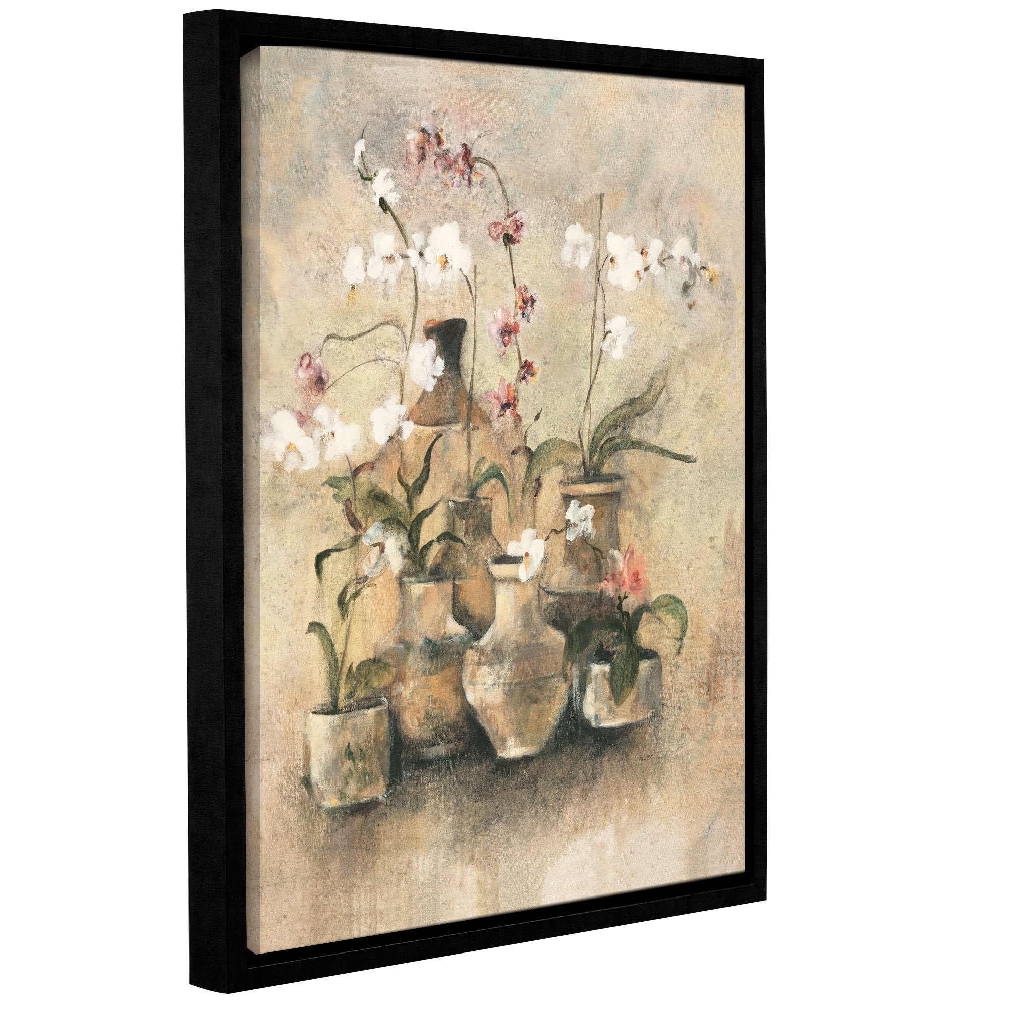 Artwall 'arrangement Of Orchids I'cheri Blum Framed Painting In 2017 Cheri Blum Framed Art Prints (View 3 of 15)