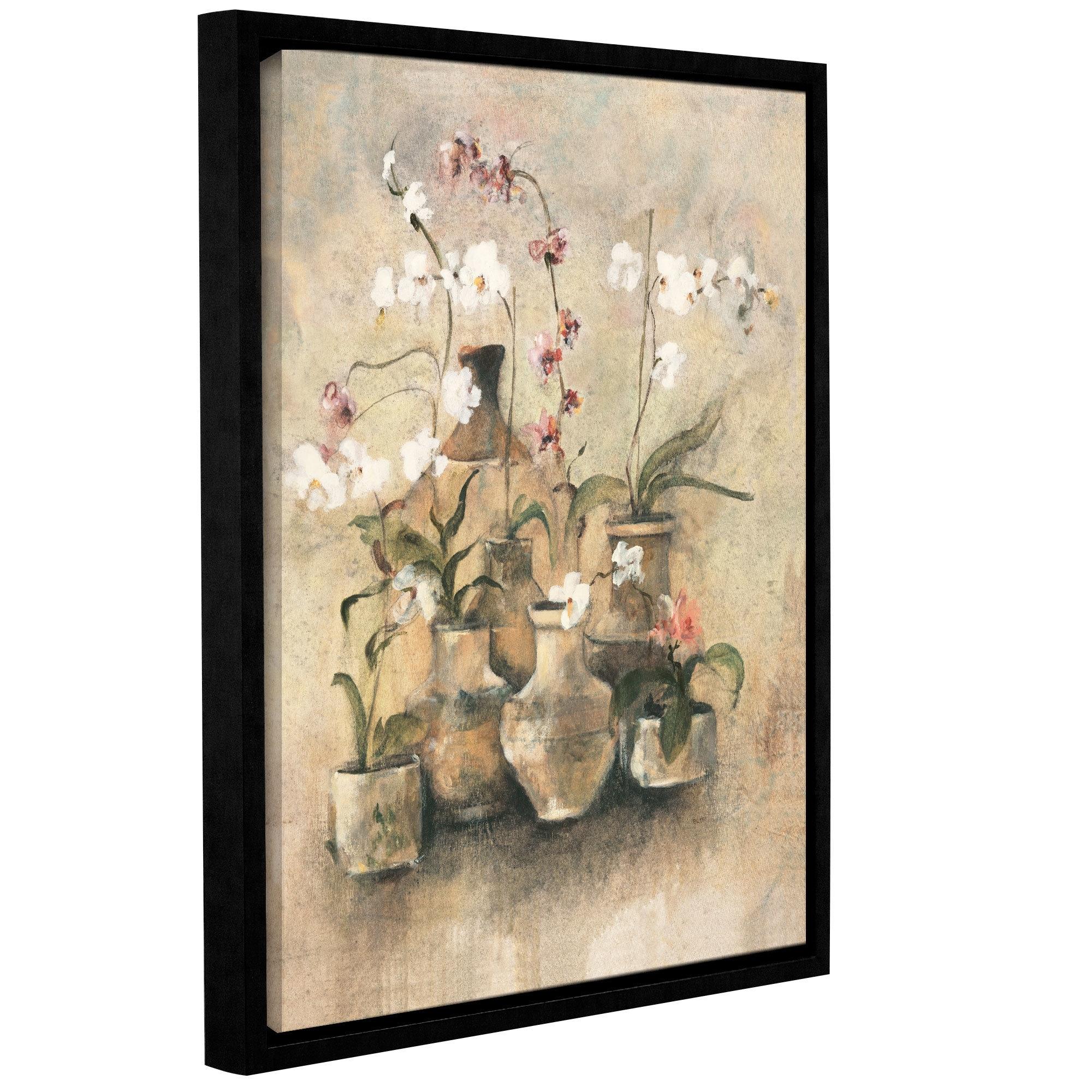 Artwall 'arrangement Of Orchids I'cheri Blum Framed Painting In 2017 Cheri Blum Framed Art Prints (View 2 of 15)
