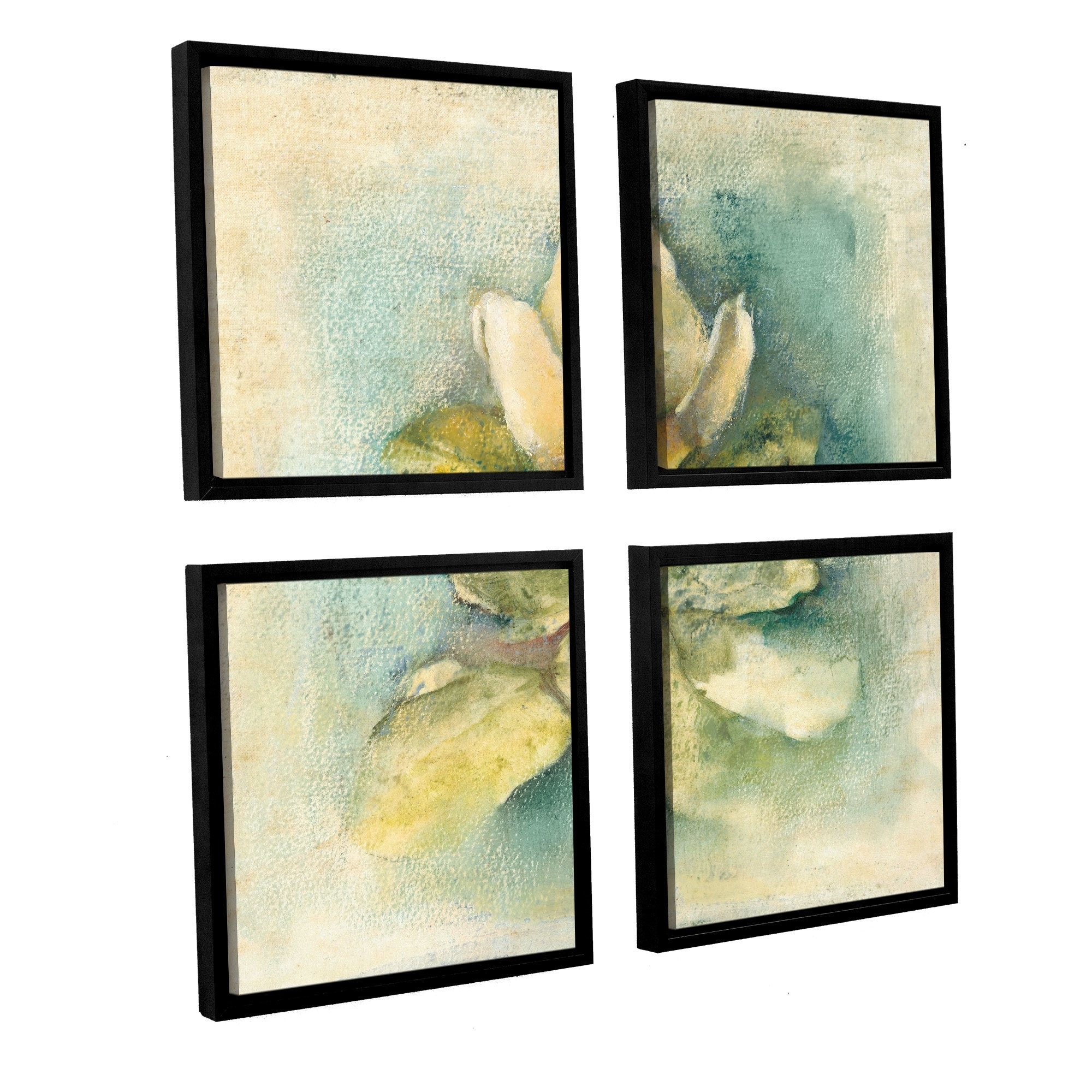 Artwall 'french Magnolia'cheri Blum 4 Piece Framed Painting Within Most Recent Cheri Blum Framed Art Prints (View 13 of 15)