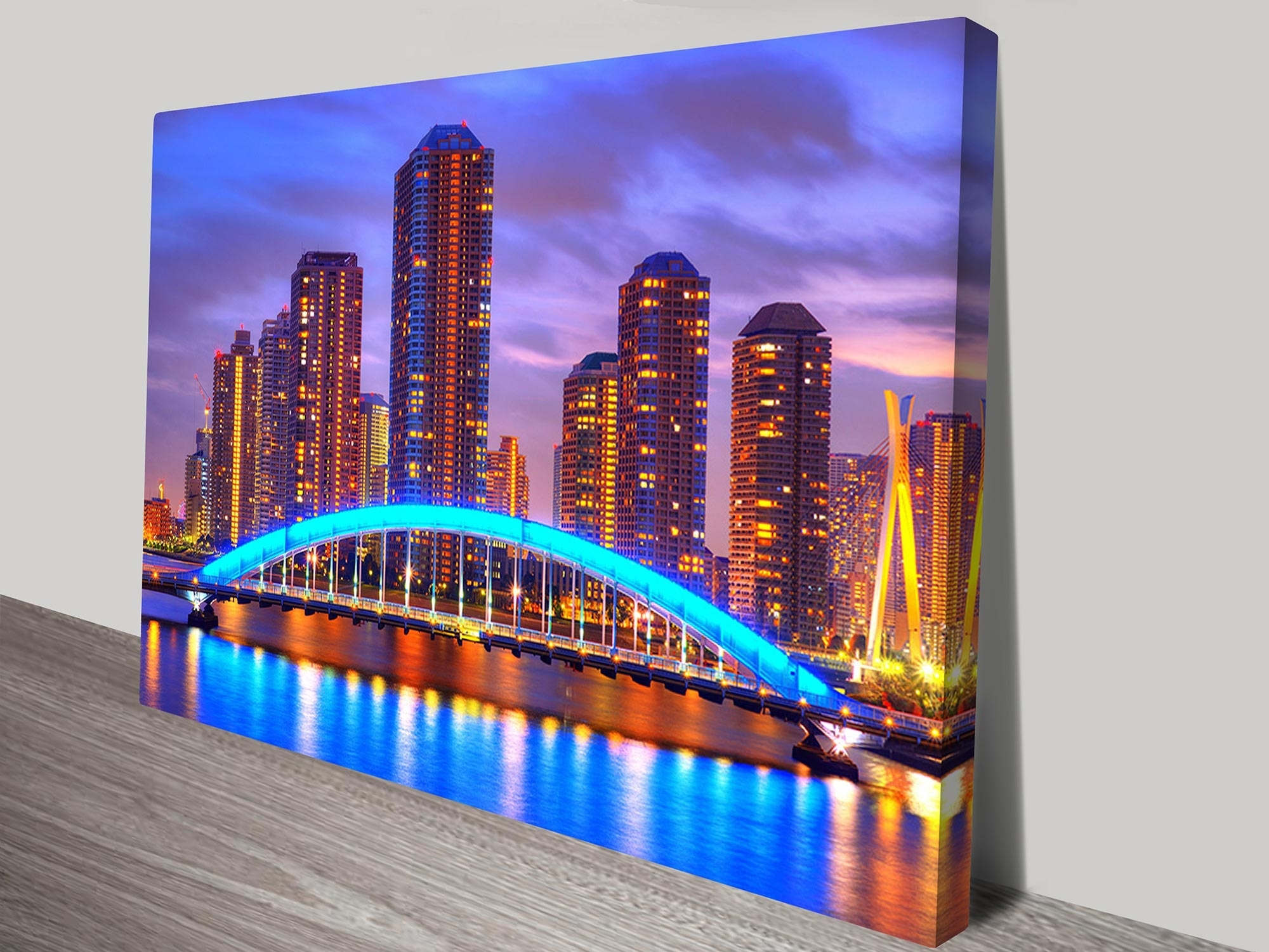 At Night Canvas Prints Australia For Best And Newest Melbourne Canvas Wall Art (View 3 of 15)