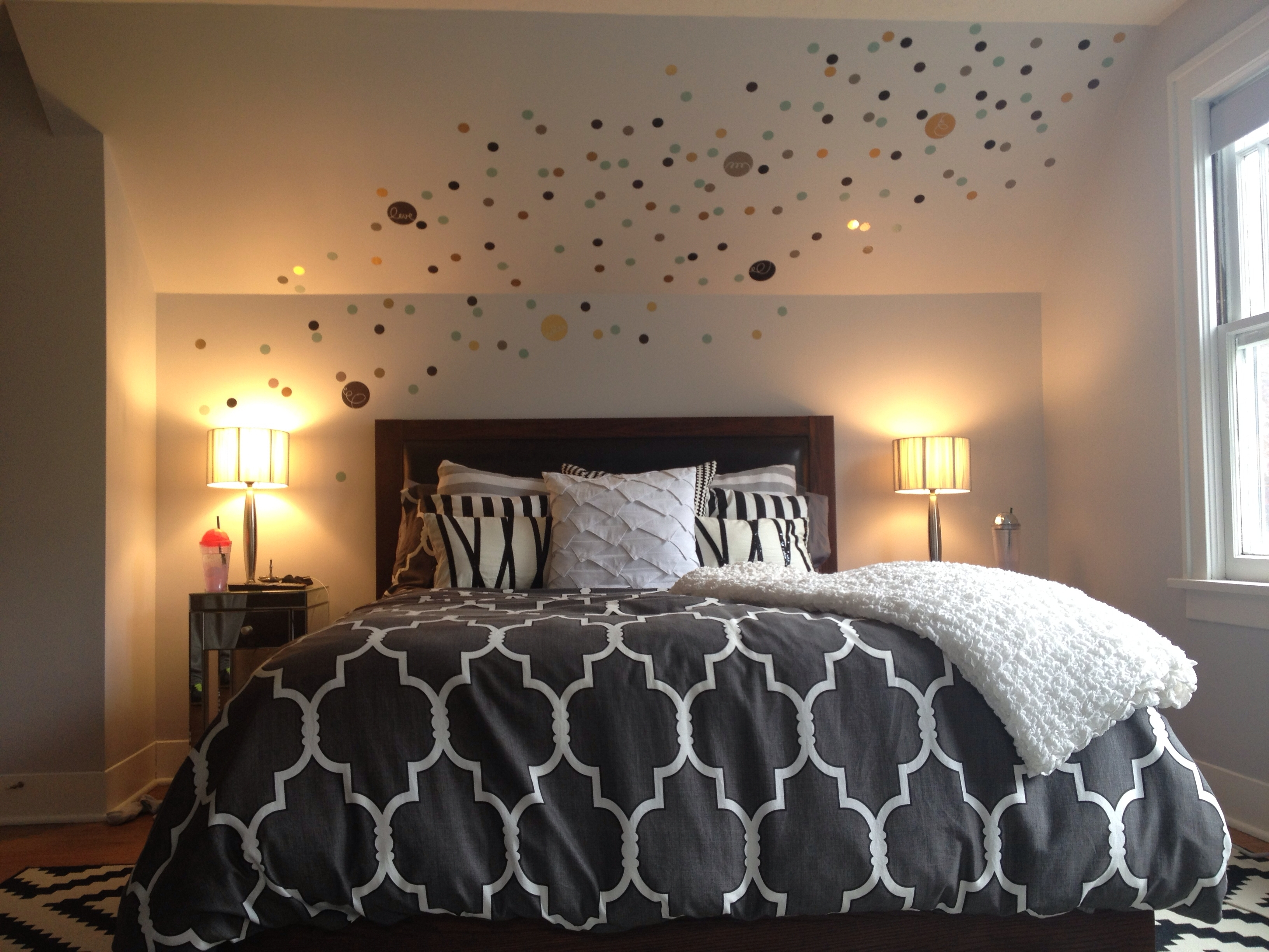 Awesome Master Bedroom Wall Decor Ideas | Bedroom Decor Within Current Wall Accents For Small Bedroom (View 1 of 15)