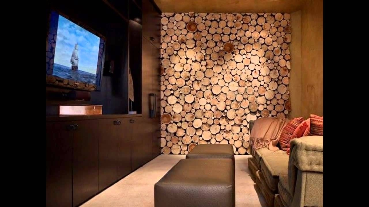 Awesome Wood Wall Decor Ideas – Youtube With Regard To Newest Wooden Wall Accents (View 2 of 15)