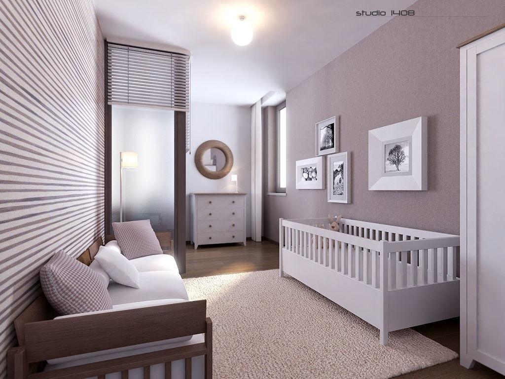 Baby Room : Charming Gray Nursery Ideas Wall Decor With Framed Art Inside Best And Newest Grey And White Wall Accents (View 5 of 15)