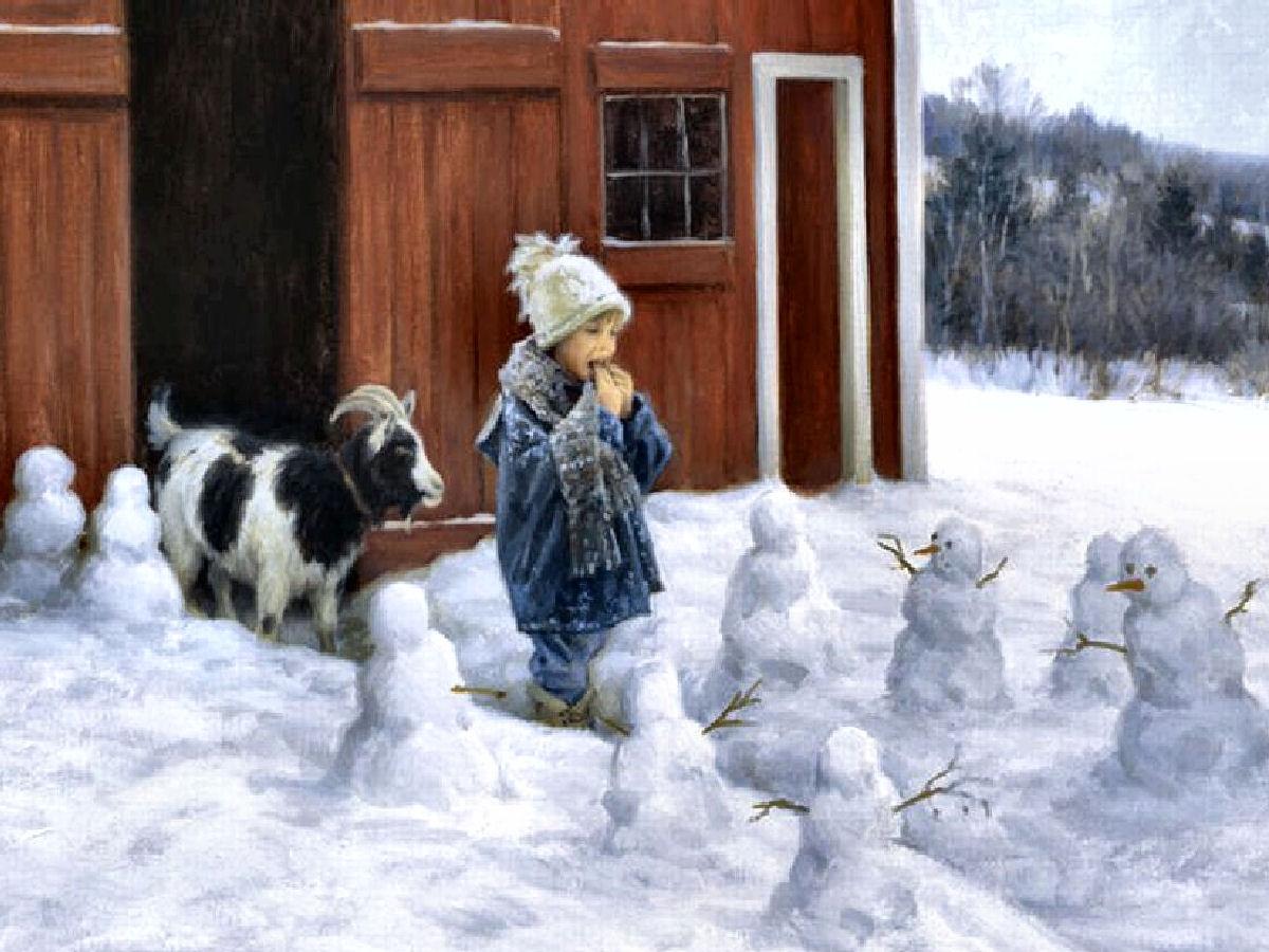 Barn Patrolrobert Duncan | Charming Children?Bless The Beasts Within Current Robert Duncan Framed Art Prints (View 8 of 15)