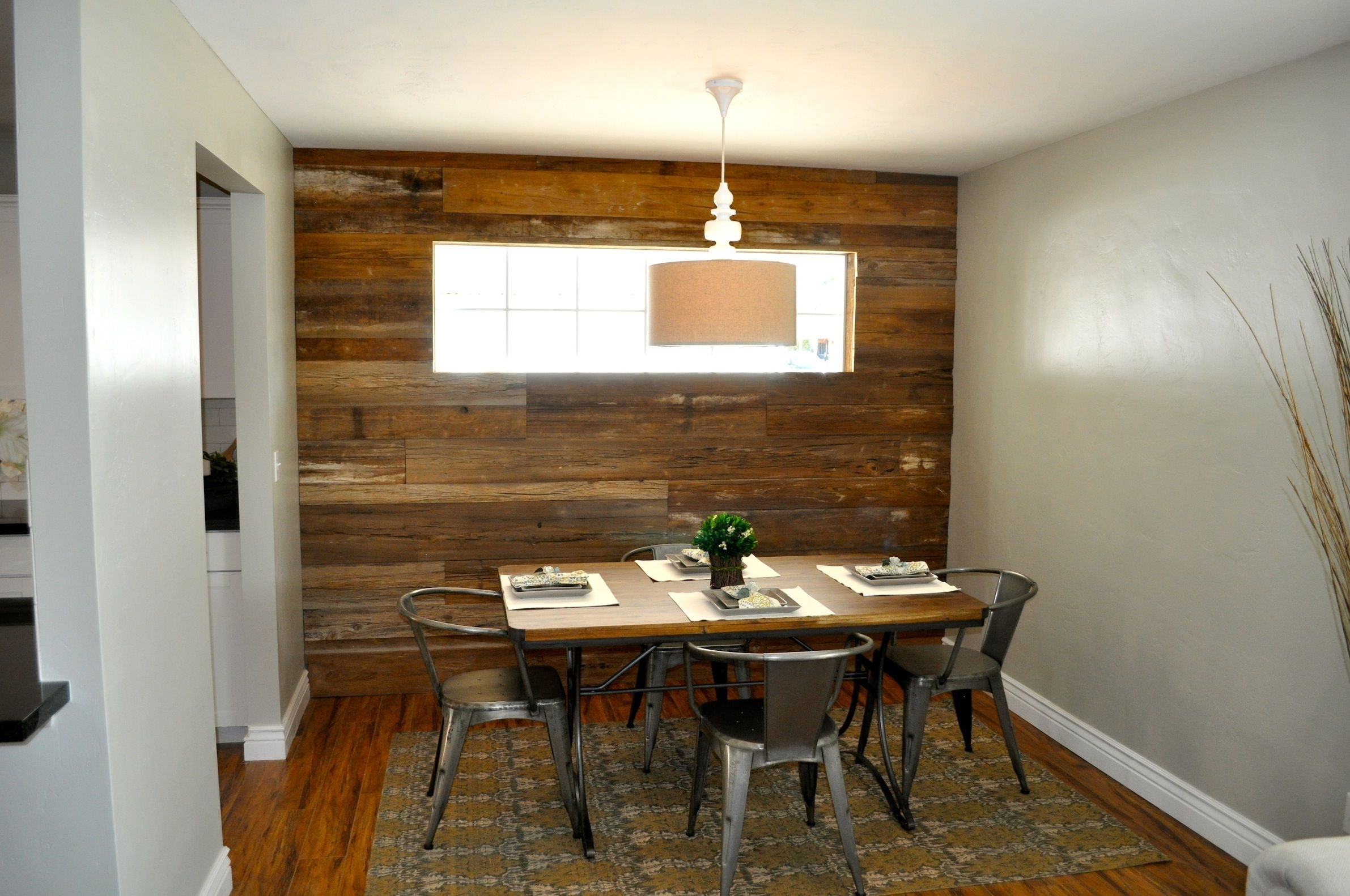 Barn Wood Accent Wall Rafterhouse (View 4 of 15)