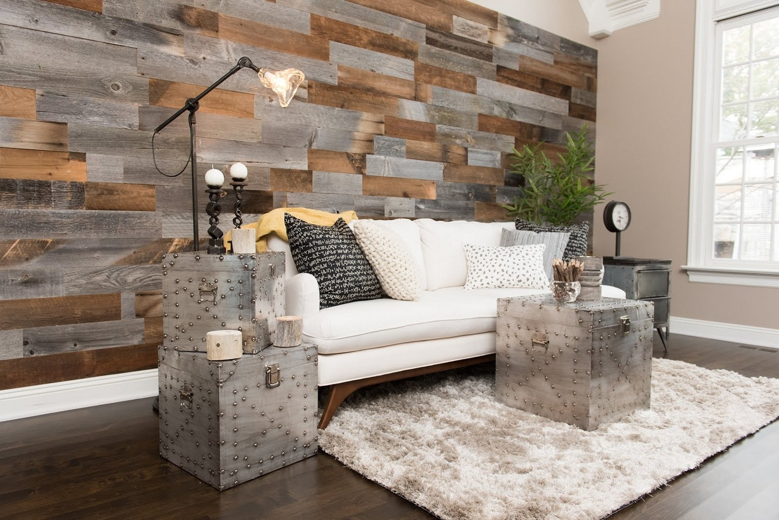 Barn Wood Wall Ideas • Walls Ideas In 2018 Wood Wall Accents (View 7 of 15)