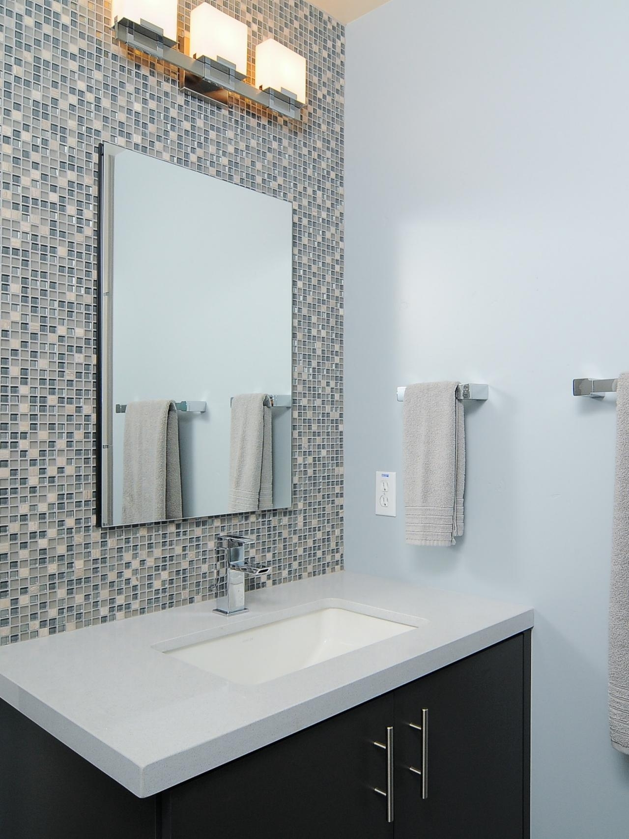 Bathroom Accent Tile | Home Design Inspiration Within Current Wall Accents For Bathroom (View 2 of 15)