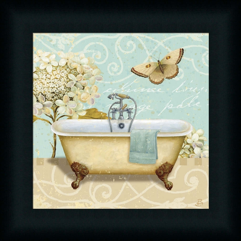 Bathroom Wall Art Decoration Ideas Tags : Bathroom Framed Art In Latest Framed Art Prints For Bathroom (View 6 of 15)