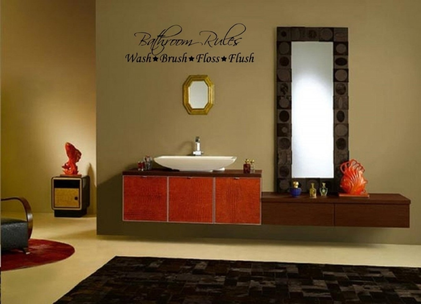 Bathroom Wall Decor With Regard To 2018 Wall Accents For Bathroom (View 4 of 15)