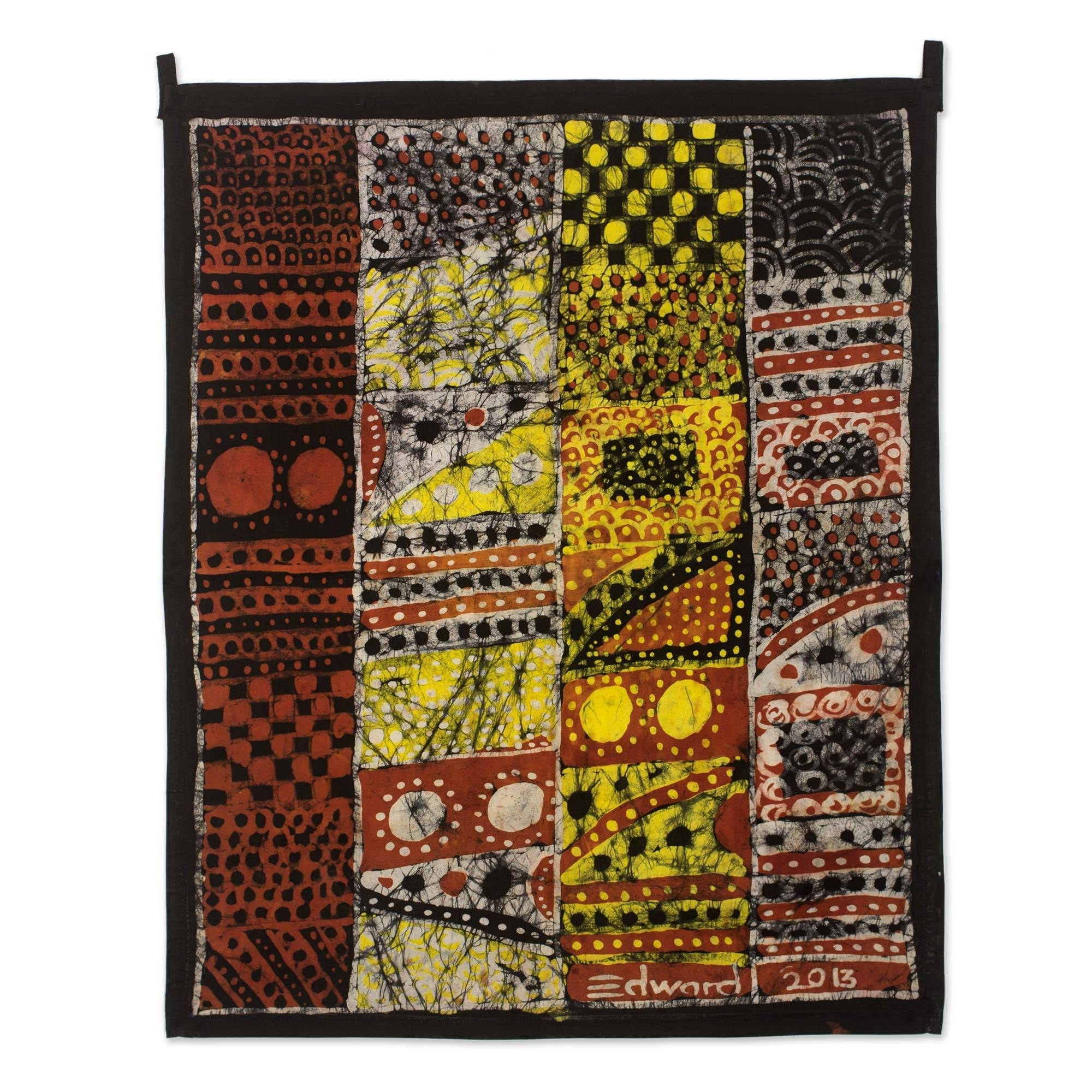 Batik Wall Hangings At Novica Throughout Most Current African Fabric Wall Art (View 12 of 15)