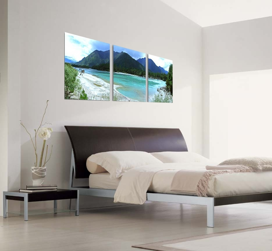 Beach Life Photography 3 Piece Wall Art Within Most Recently Released Mountains Canvas Wall Art (View 5 of 15)