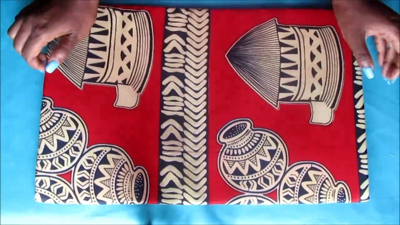 Beautarie Home Ep.4: Diy Fabric Wall Art Afican Print (View 9 of 15)