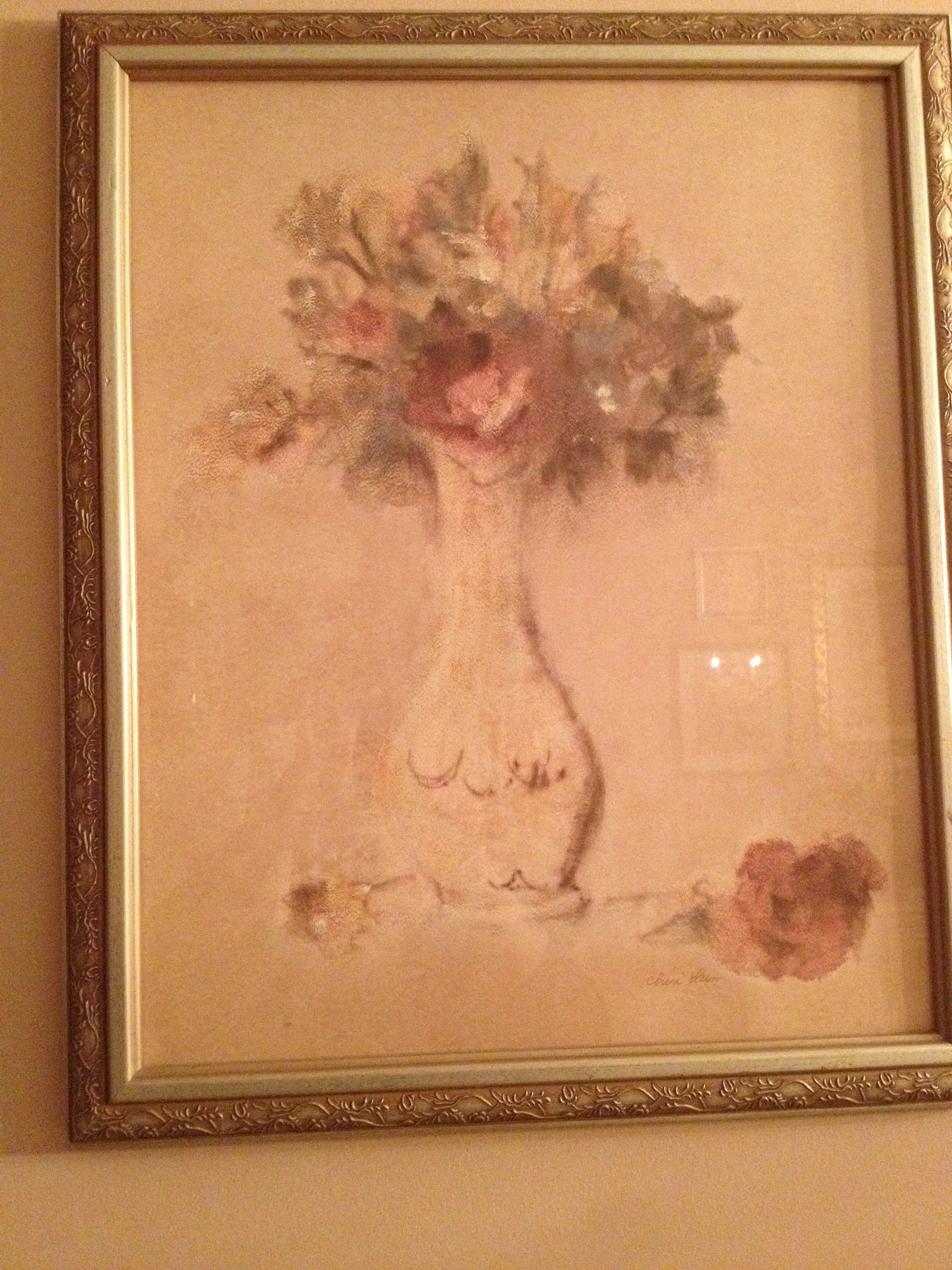 Beautiful Cheri Blum Framed Print Hung In My Kitchen (View 6 of 15)
