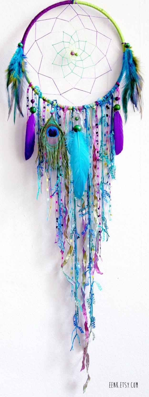 Beautiful Diy Dreamcatcher Ideas For Keeping Nightmares Away With Regard To Most Up To Date Dreamcatcher Fabric Wall Art (View 2 of 15)