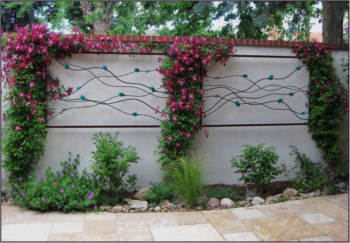 Beautiful Flower For Garden Wall Art Ideas | 2905 | Hostelgarden For Current Garden Wall Accents (View 4 of 15)