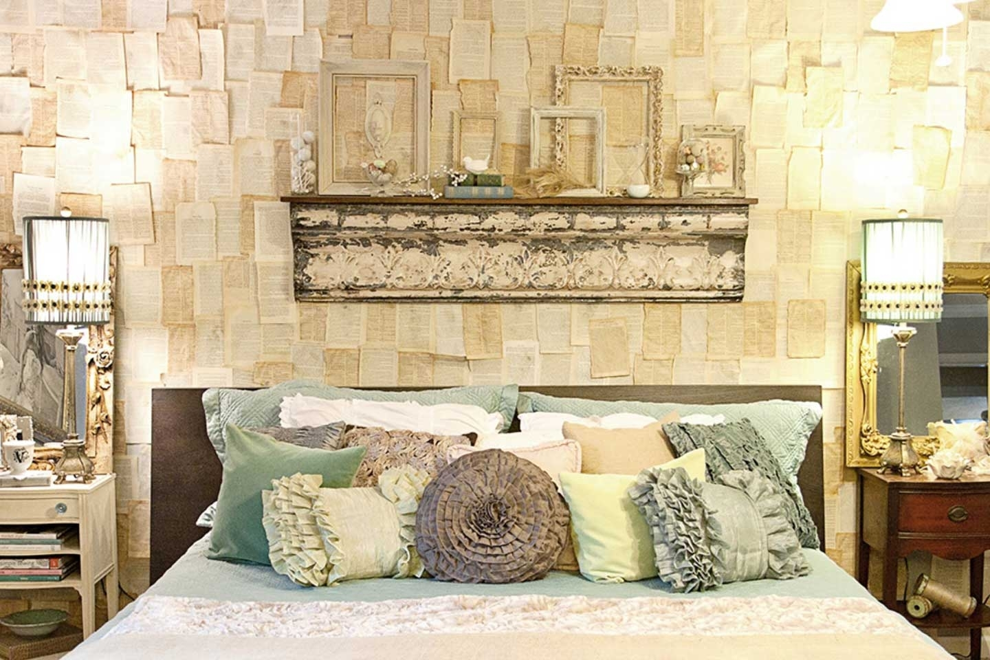 Bed & Bath: Accent Wall And Picture Ledge For Wall Decor Etsy With With Current Etsy Wall Accents (View 12 of 15)