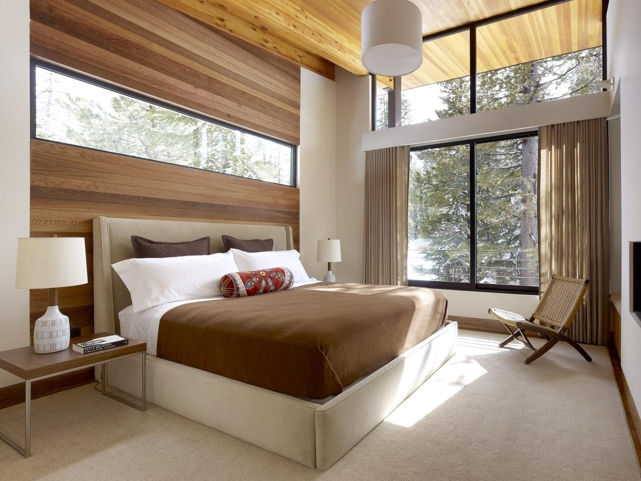 Bedroom | Behind Headboard Wood Wall Accent – Contrast Way Inside Best And Newest Wall Accents Behind Bed (View 5 of 15)