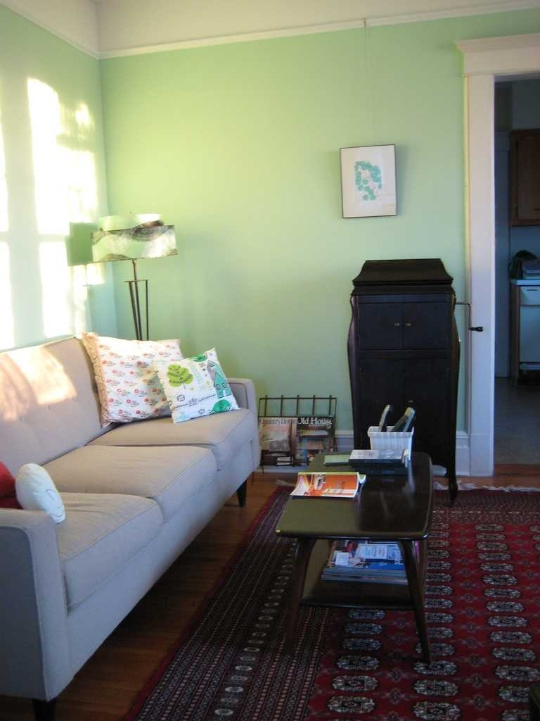 Bedroom Decorating Ideas Light Green Walls Trends Including In Recent Green Room Wall Accents (View 5 of 15)