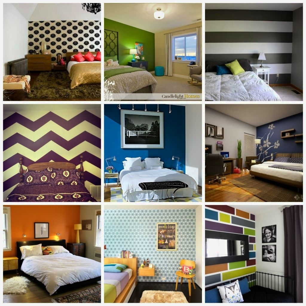 Bedroom Design: Accent Wall Ideas Bedroom (View 7 of 15)