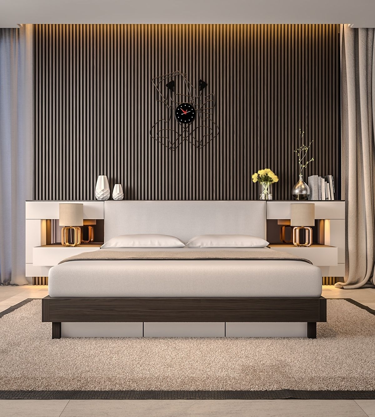 Bedroom Design: Accent Wall Ideas For Living Room Wallpaper Accent In Best And Newest Wallpaper Wall Accents (View 6 of 15)