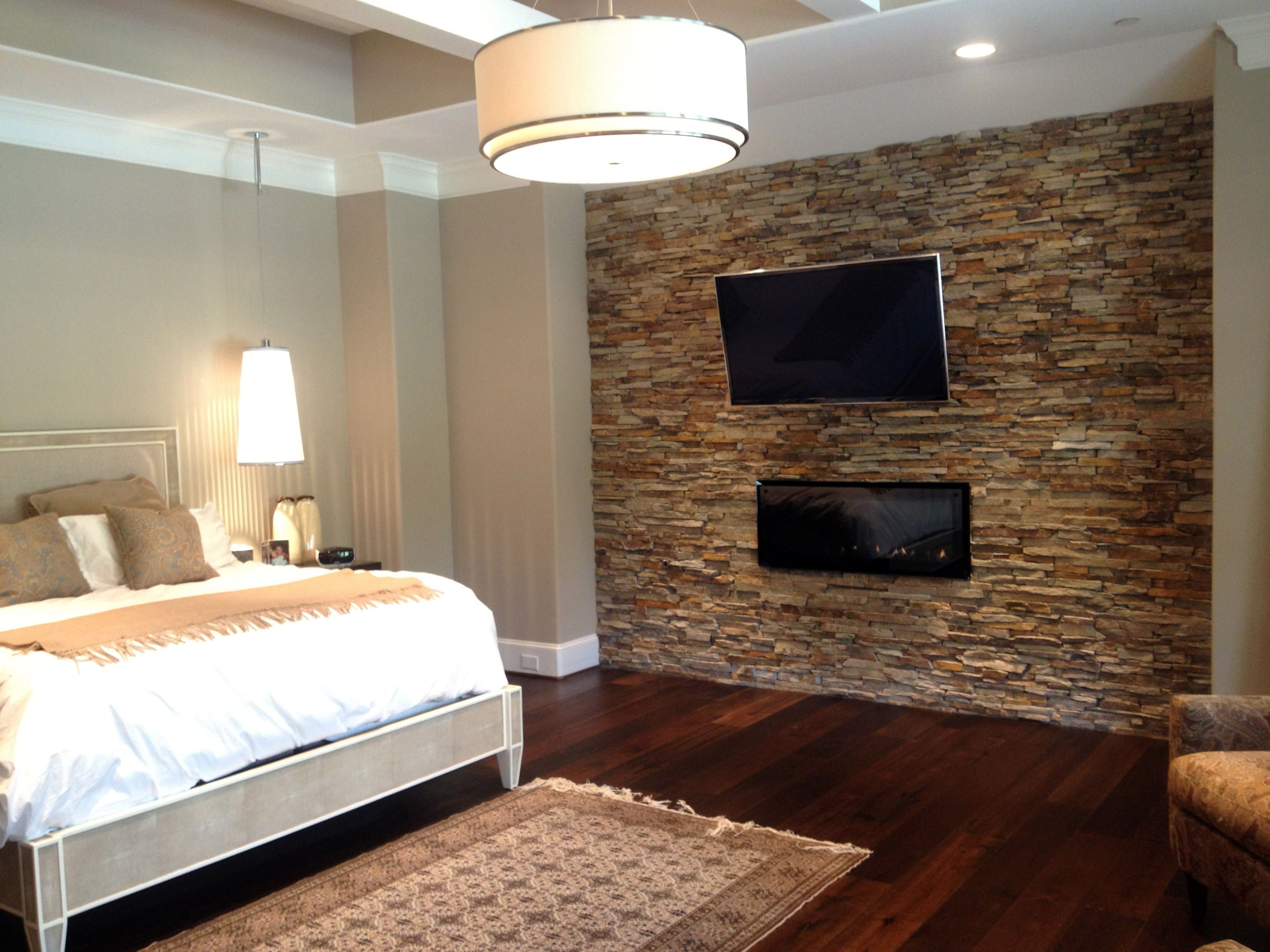 Bedroom Design: Accent Wall Ideas For Living Room Wood Accent Wall Inside Current Wallpaper Bedroom Wall Accents (View 11 of 15)