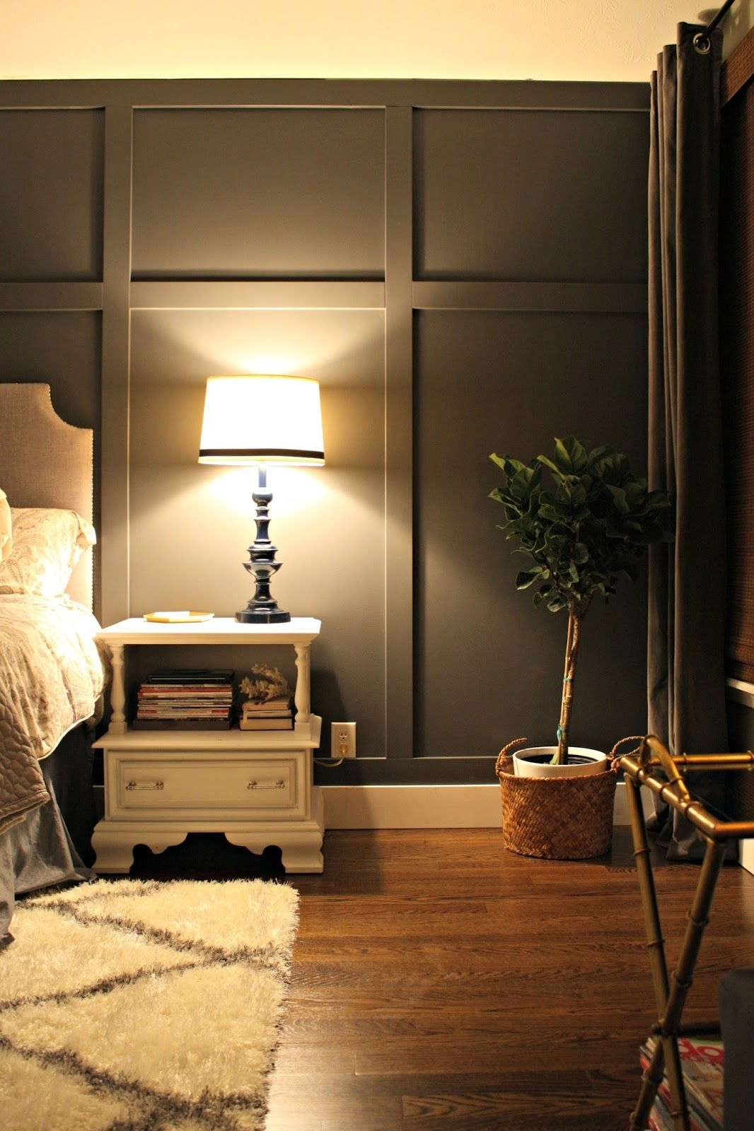 Bedroom Design: Accent Wall Panels Accent Wall Ideas For Small With Regard To Most Recent Wood Wall Accents (View 14 of 15)